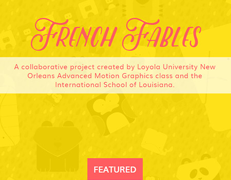 French Fables Website