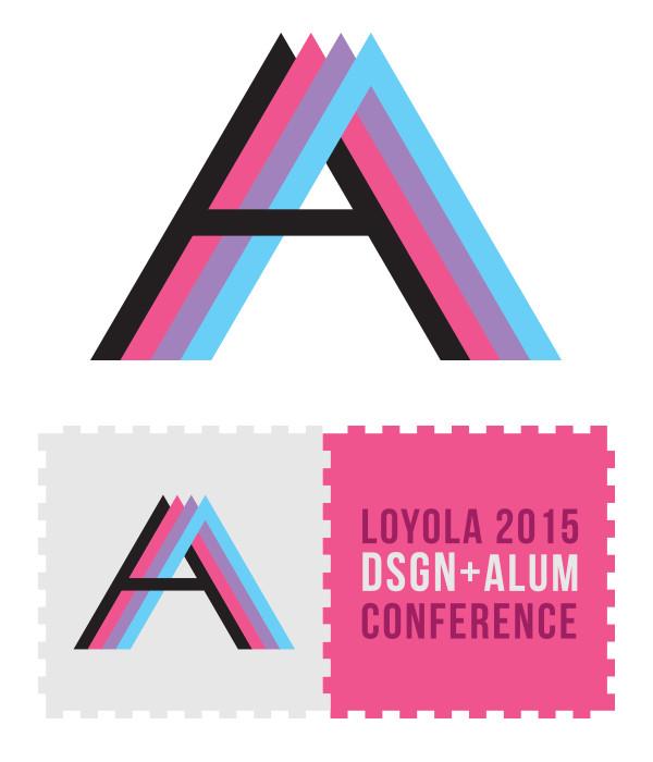 Loyola Design Alumni Conference Logo