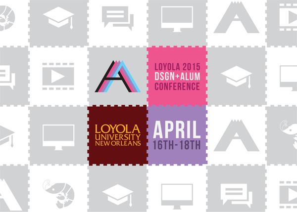 Loyola Design Alumni Conference 2015 Postcard Front