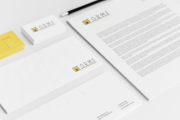 high-end residential interior FORME stationary