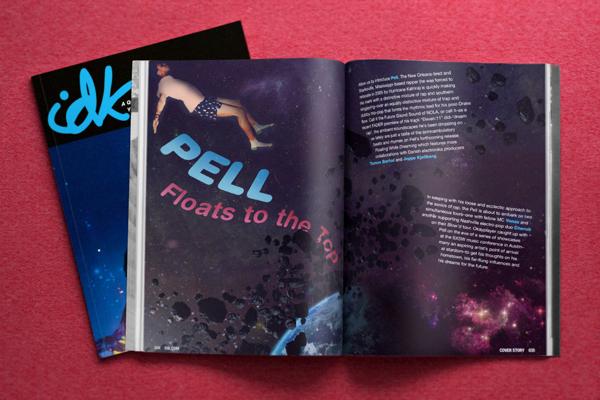 IDK Magazine Cover Story Spread
