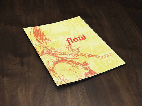 Flow, Jesuit Journal of Design, Spring 2014 Premier Issue Cover