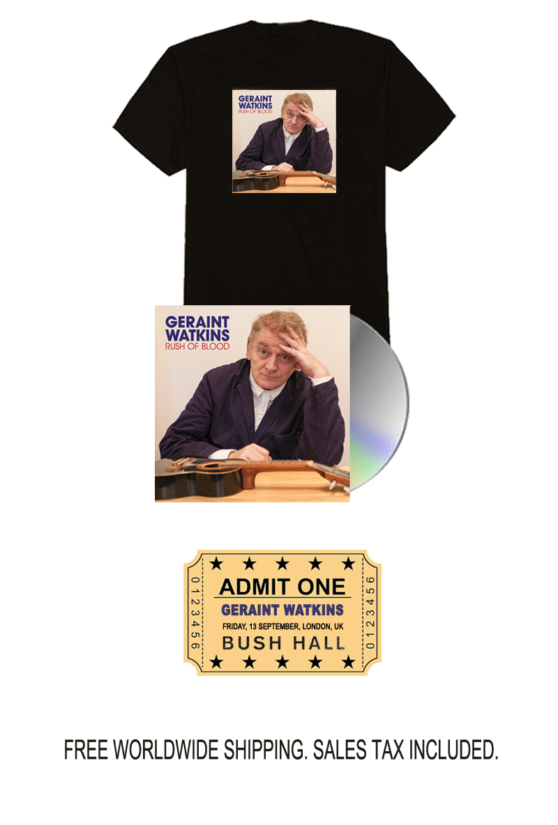 Geraint Watkins Limited Edition Signed CD Bundle with Show Ticket Pre-Order