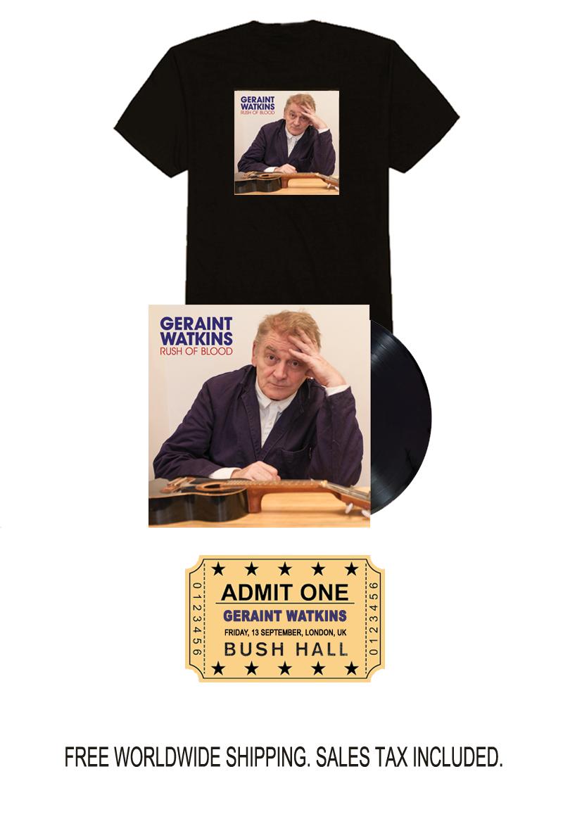 Geraint Watkins Limited Edition Signed Vinyl Bundle & Show Ticket Pre-Order