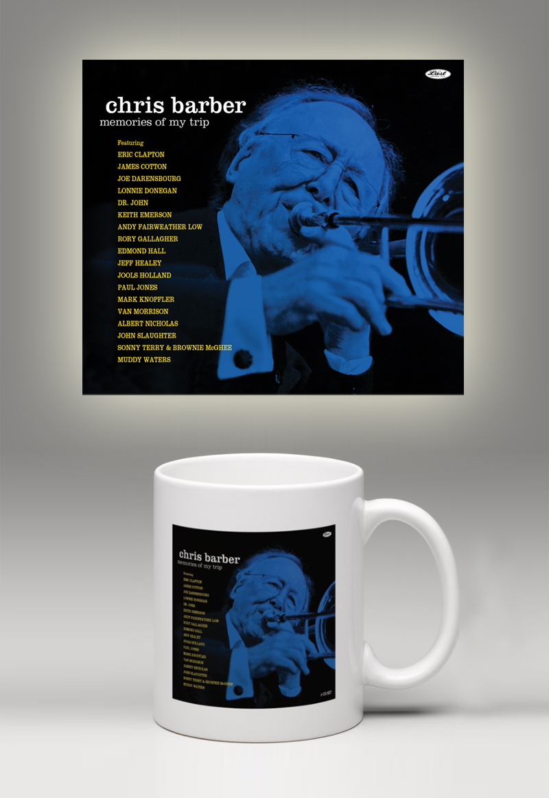 Chris Barber Memories of My Trip Mug Bundle Pre-Order