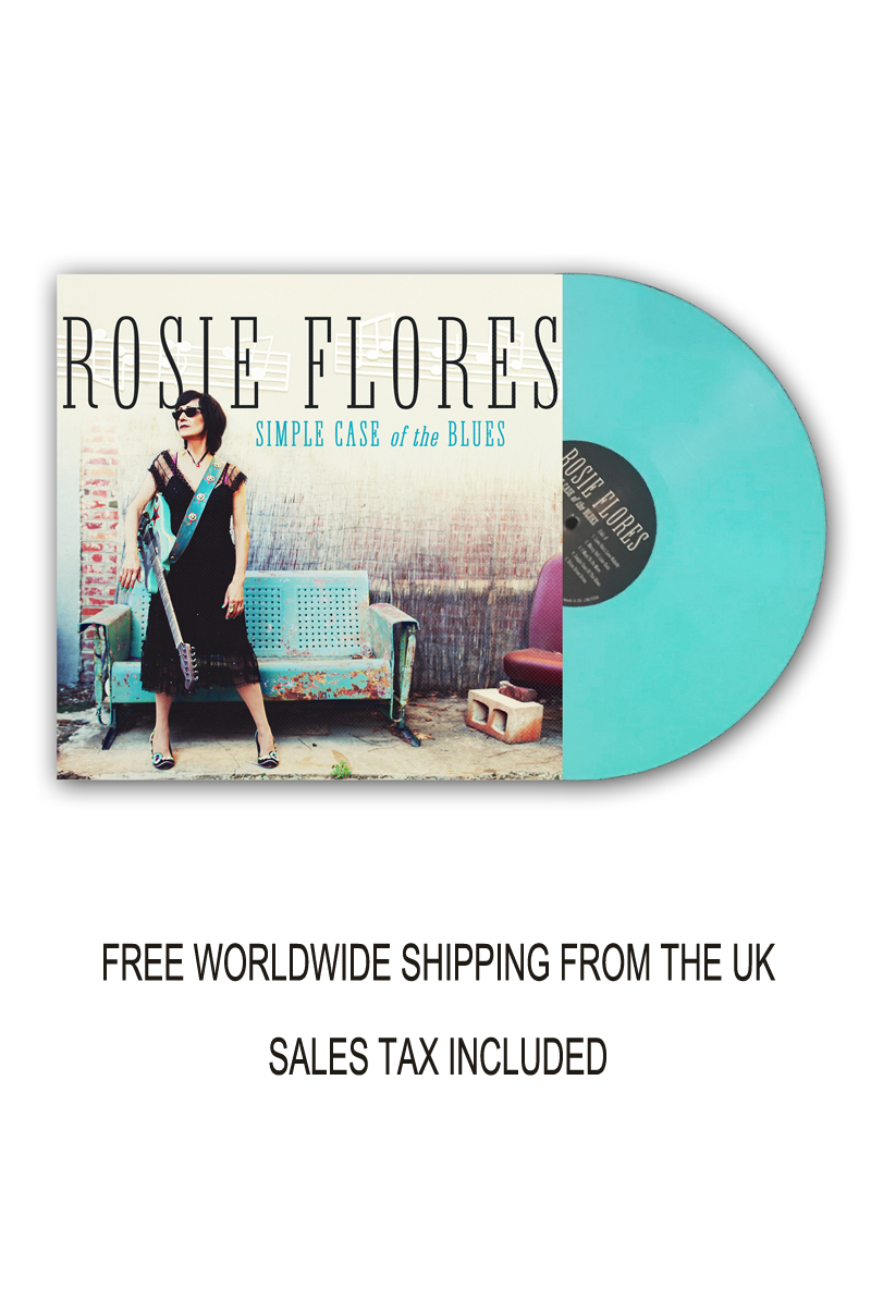 Rosie Flores Limited Edition Signed Coloured Vinyl