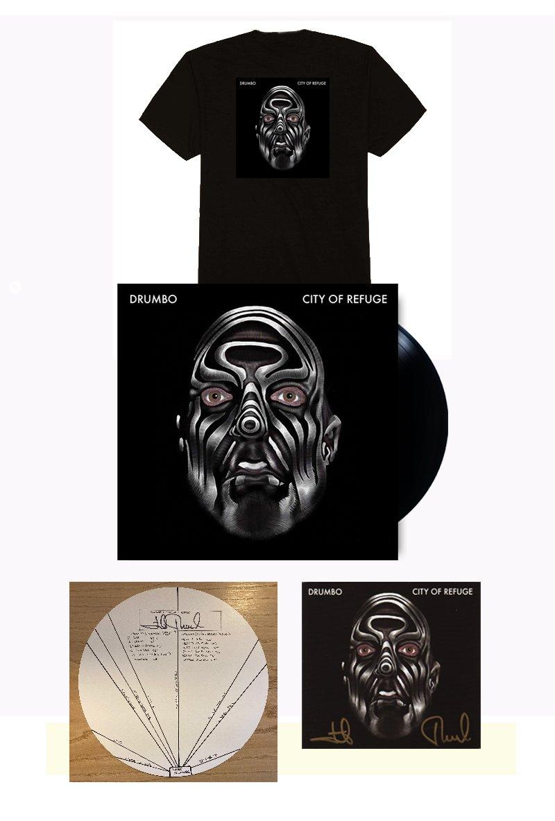 John French Signed City of Refuge Vinyl Bundle