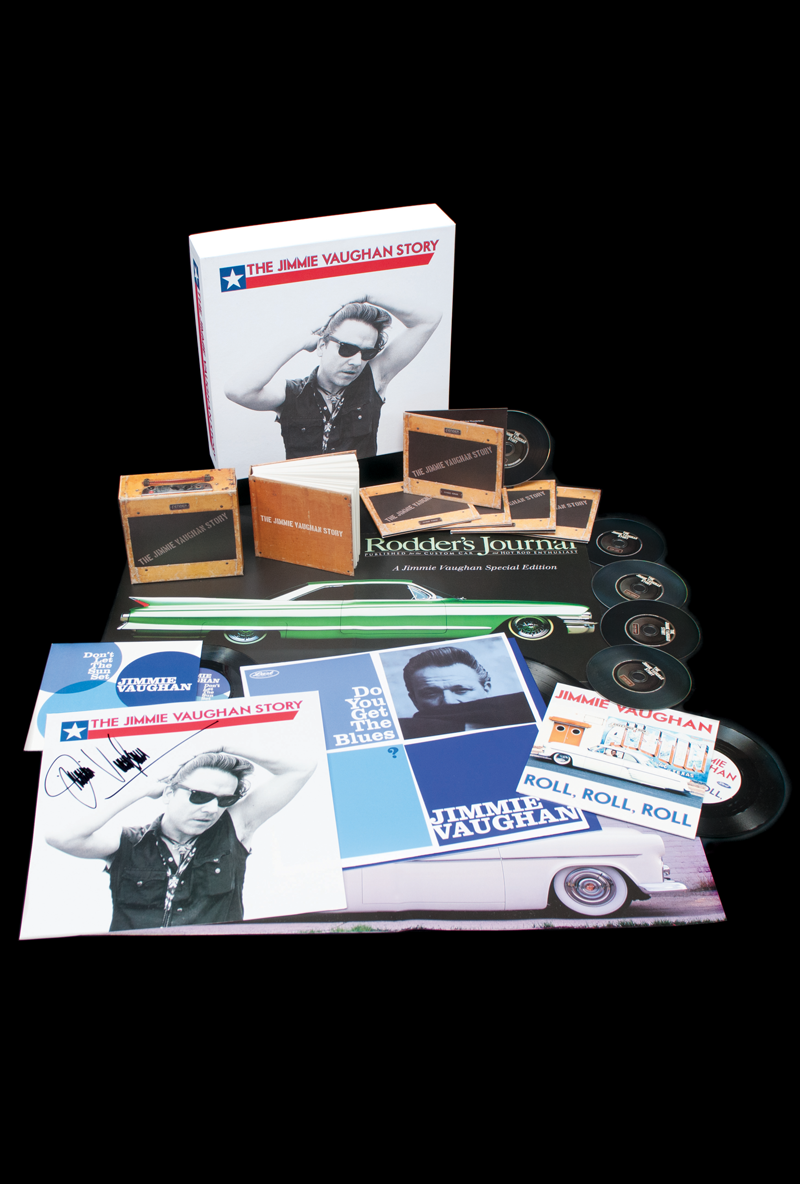 The Jimmie Vaughan Story Signed Deluxe Box Set