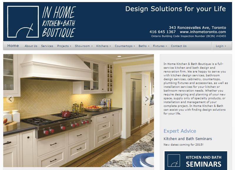 Facetime Presentations was retained to create a brand and build awareness of a Kitchen and Bath Renovation Boutique in Toronto, Ontario, Canada.