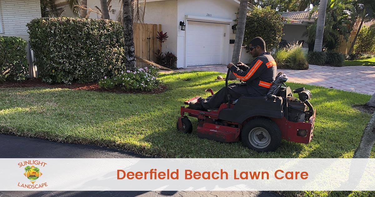 Deerfield Beach Lawn Care Company