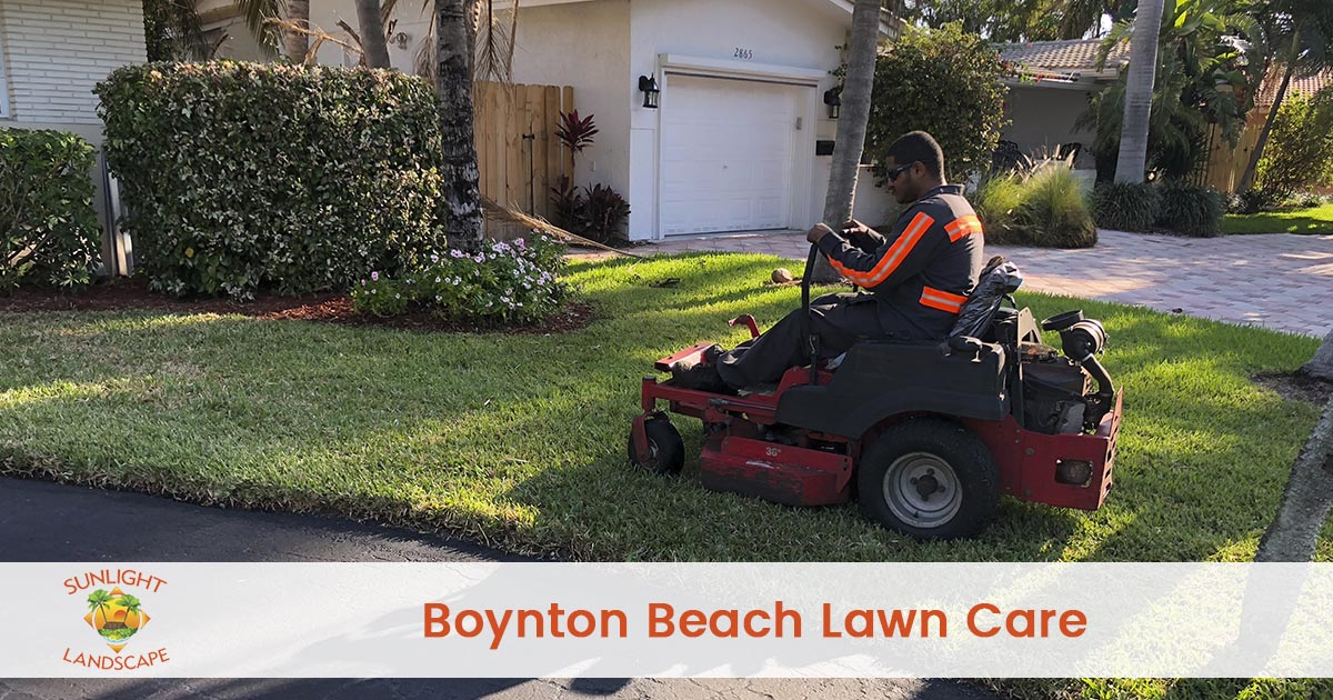 Boynton Beach Lawn Care Company
