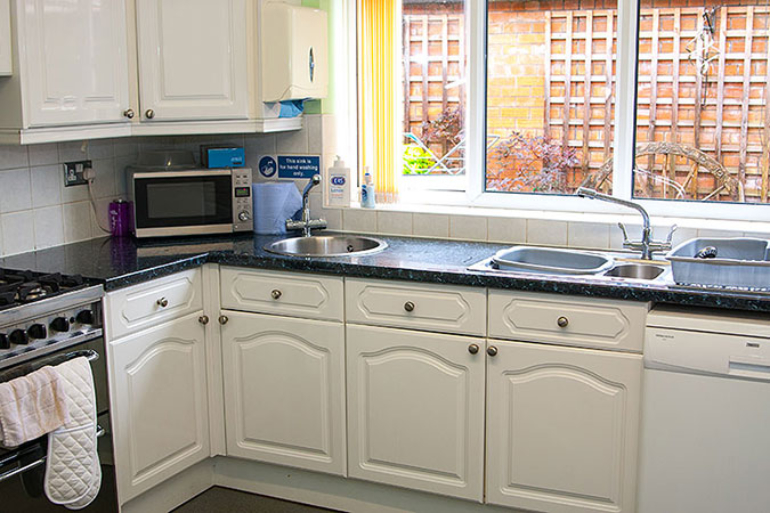 Photo of an Individual Care Services property Hartshill Nuneaton kitchen