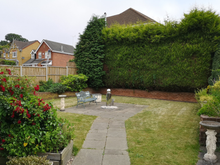 Photo of a Individual Care Services property Hartshill Nuneaton garden