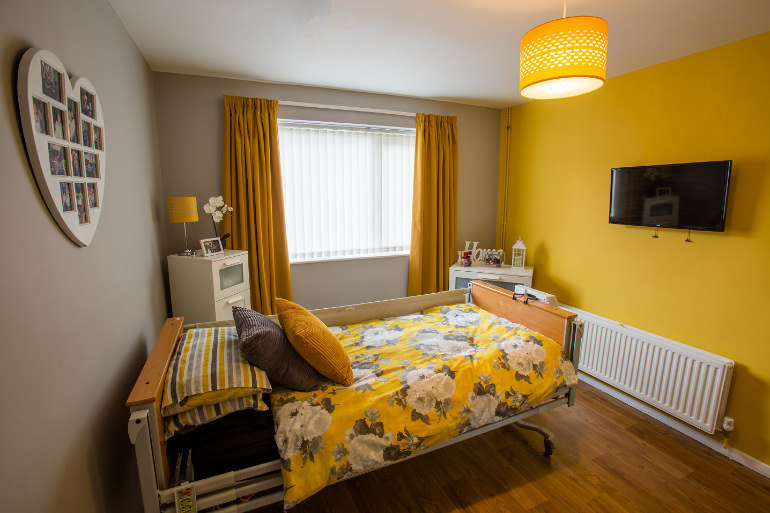 Photo of an Individual Care Services property Wembrook Nuneaton bedroom