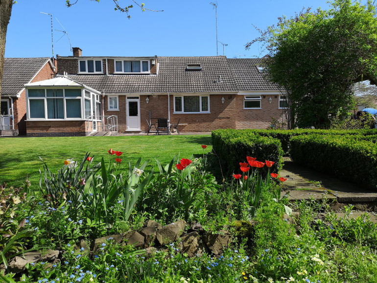 Photo of an Individual Care Services property Wembrook Nuneaton garden