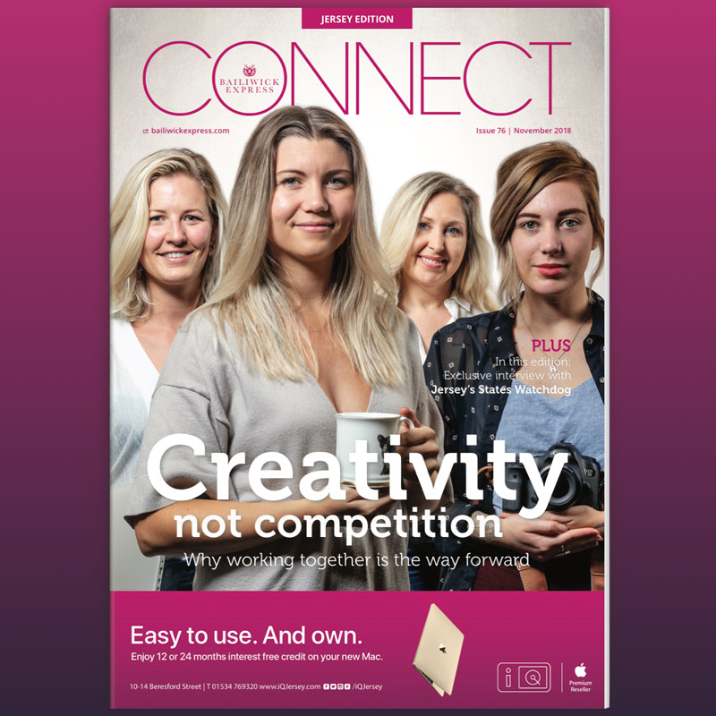 CONNECT magazine - Fiduchi proves that small is beautiful.