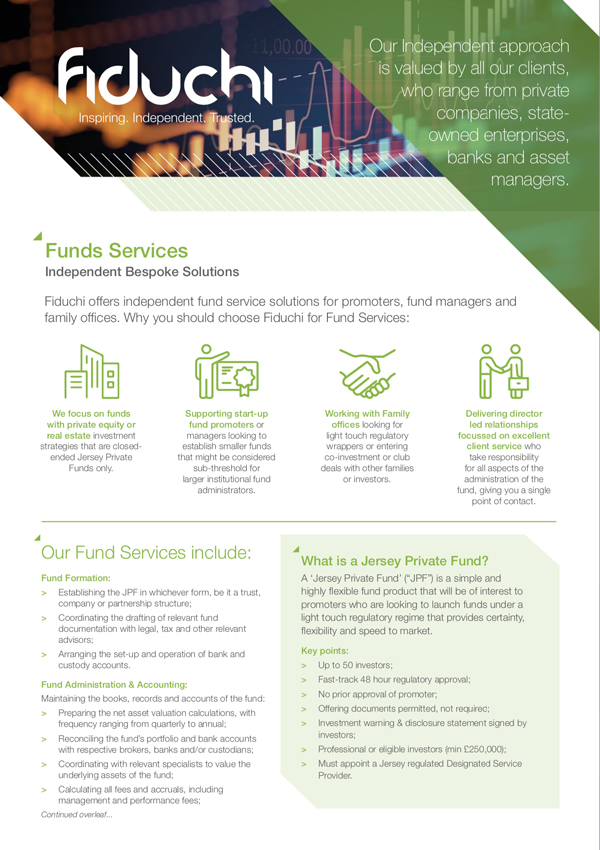 Fiduchi Fund Services Leaflet