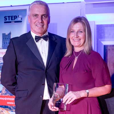 Jane Hayes wins STEP Student of the Year Award