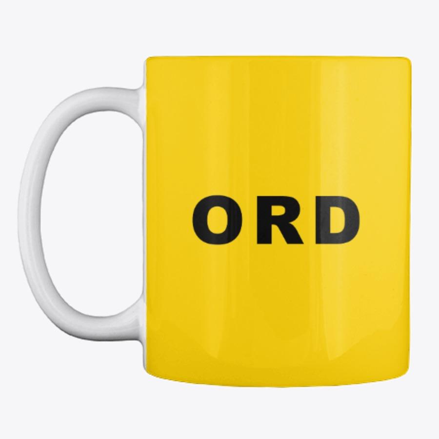 ORD O'Hare Airport Code Mug