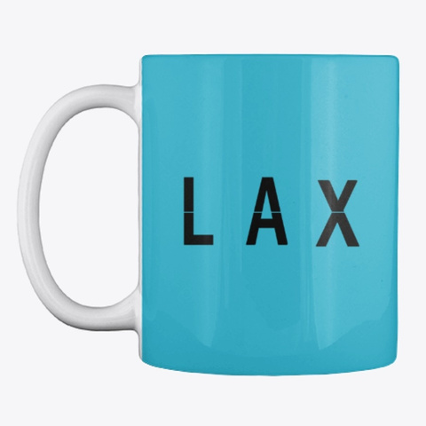LAX Los Angeles Code Mug