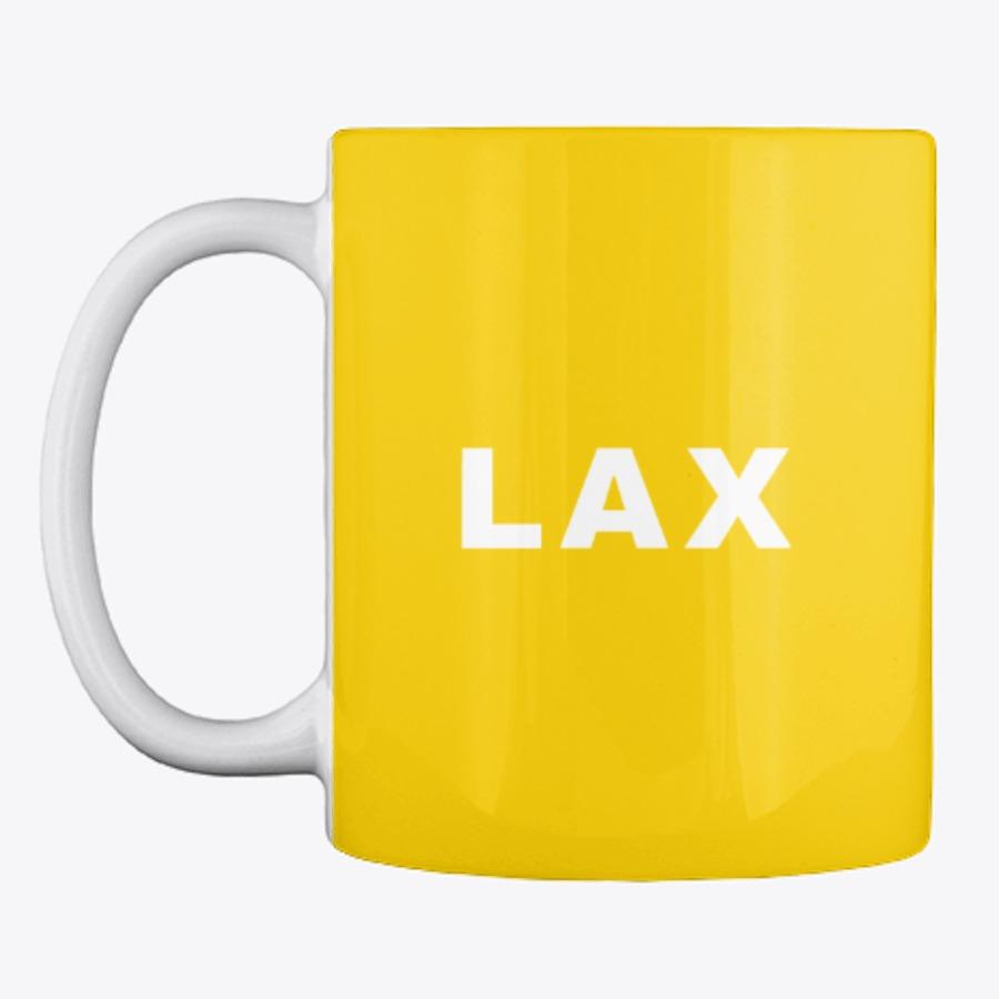 LAX Los Angeles Airport Code Mug