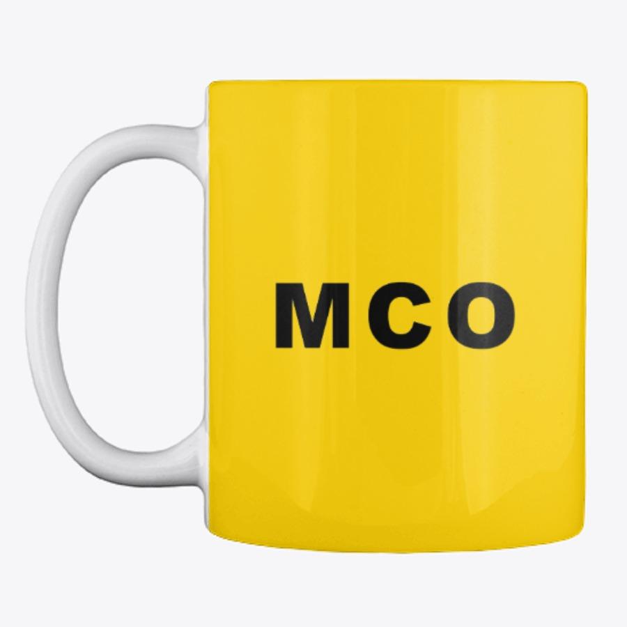 MCO Airport Code Mug