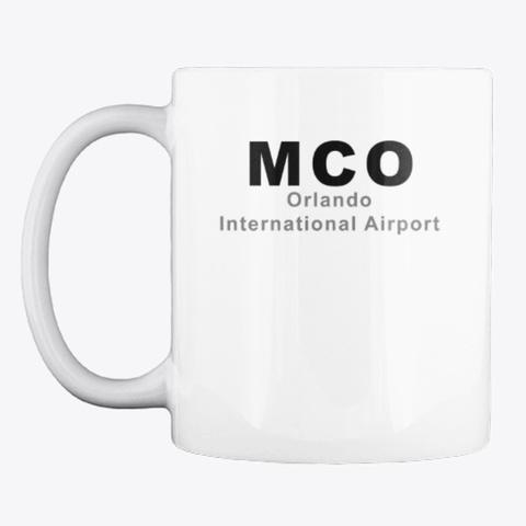 MCO Airport Mug