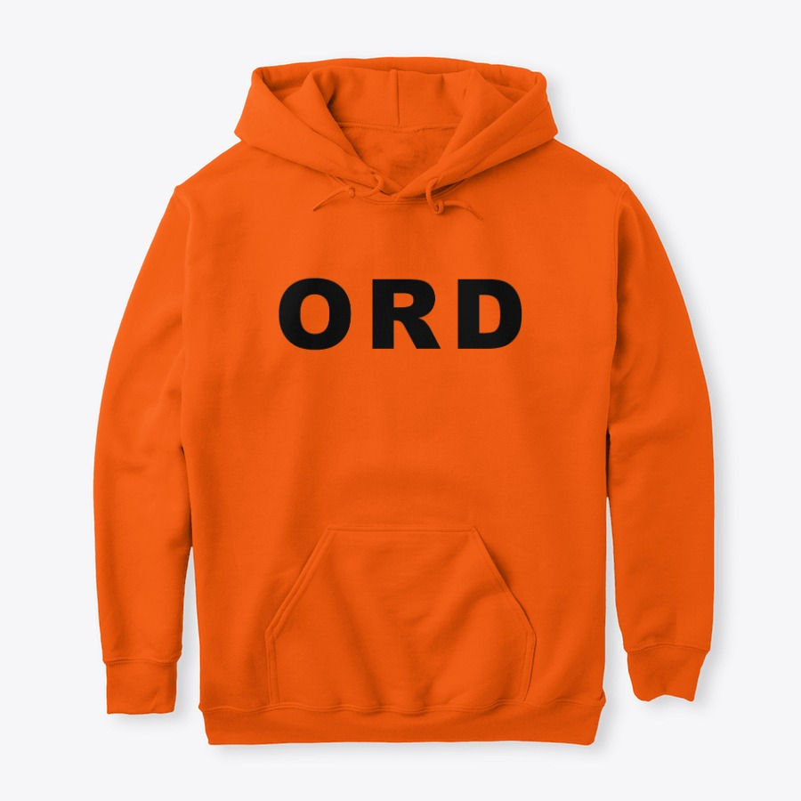 The O'Hare Airport ORD IATA Series Pullover Hoodie