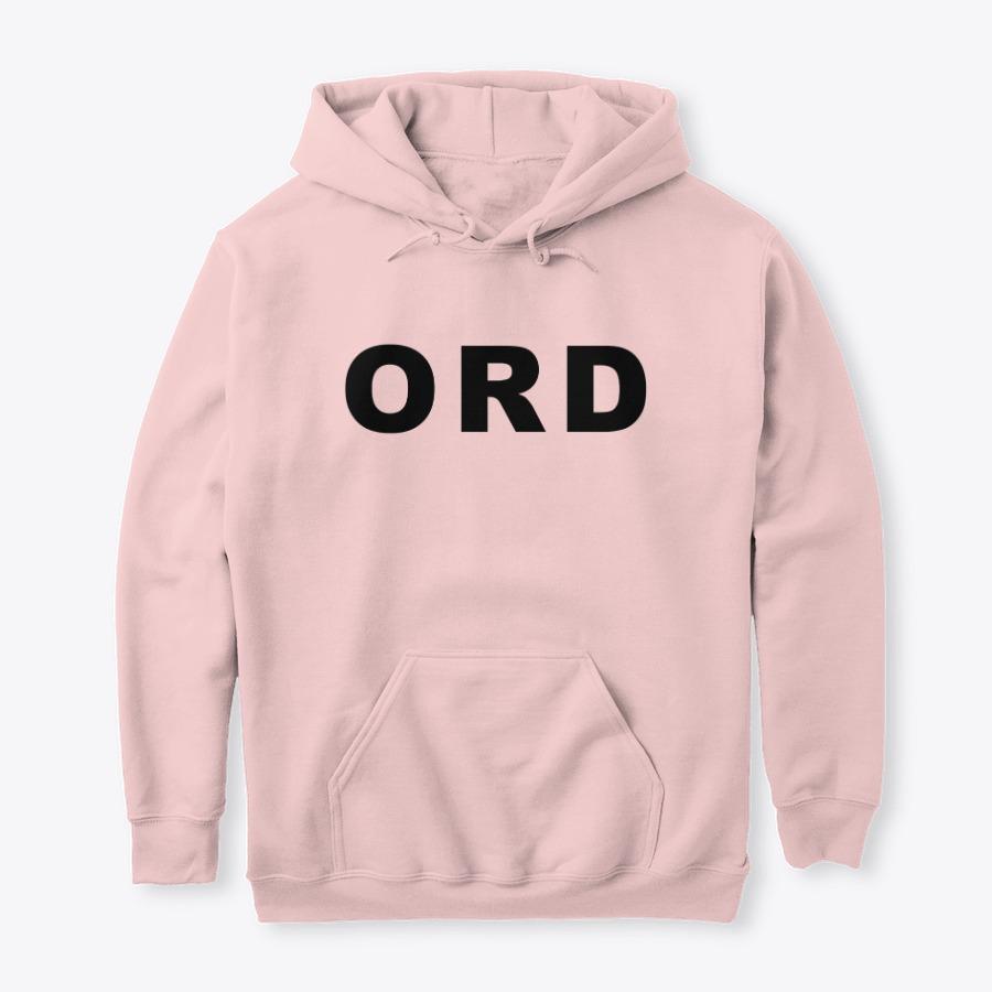 O'Hare Airport ORD Hoodie, IATA Airport code hoodies
