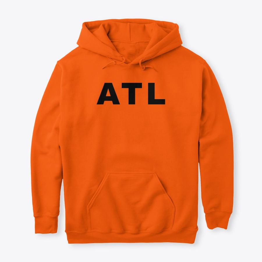 Hartsfield Airport ATL Hoodie, IATA Hartsfield Airport code hoodies