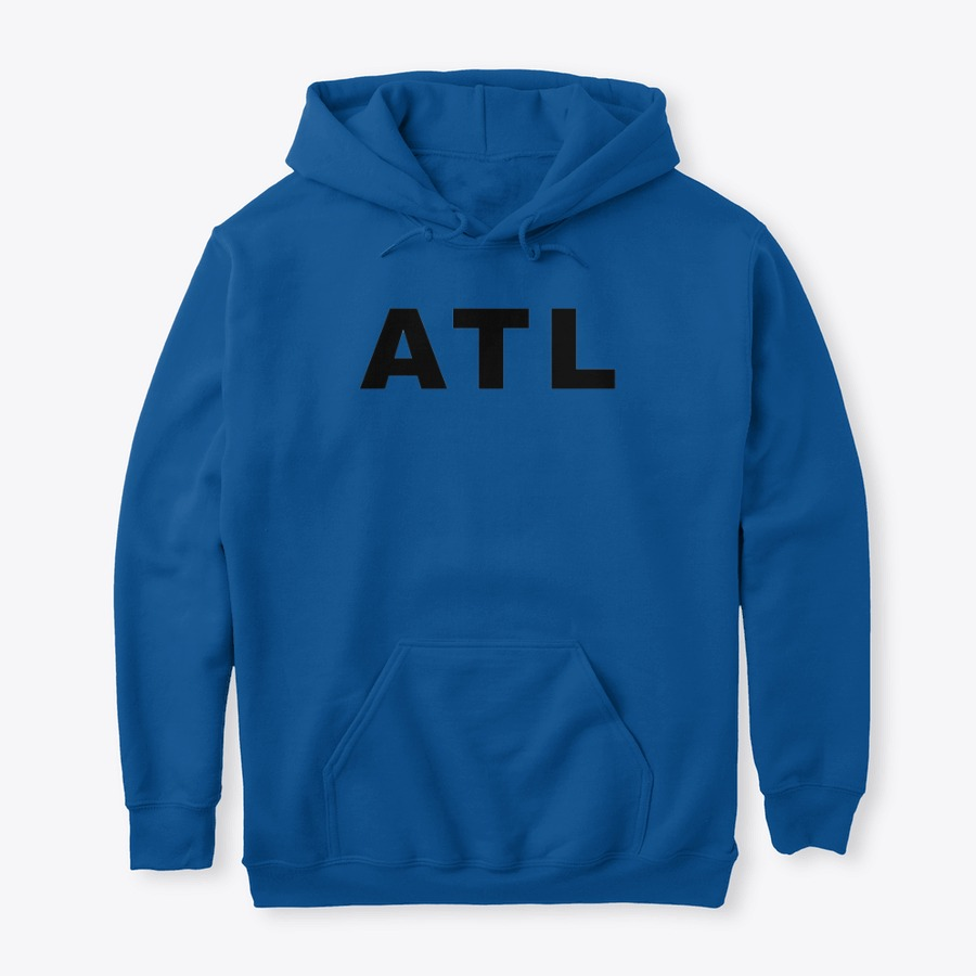 The Hartsfield Airport ATL IATA Series Pullover Hoodie