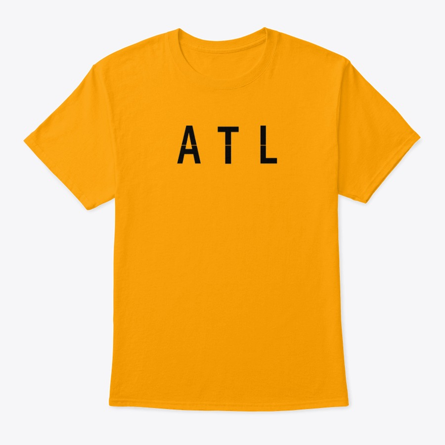 The Hartsfield Airport ATL Flight Number tee shirt