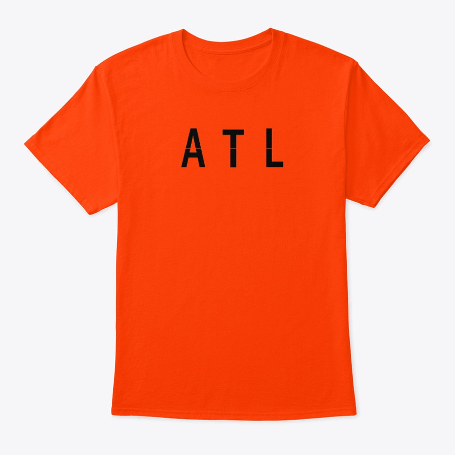 Hartsfield Airport ATL shirt, ATLHartsfield Airport code tee shirt