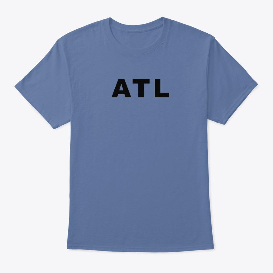 The Hartsfield Airport ATL ATA IATA code tee shirt
