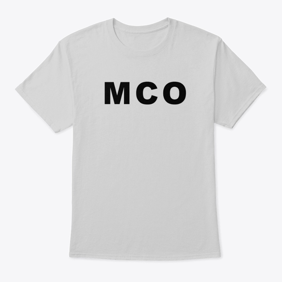 The Orlando Airport MCO IATA code tee shirt