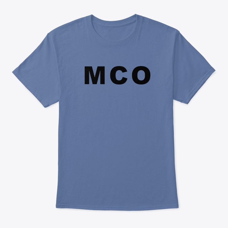 MCO Airport IATA tee shirt, Orlando IATA see shirt
