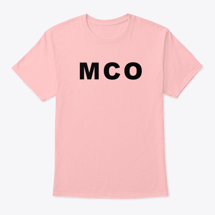 Orlando Airport MCO shirt, MCO Orlando Airport code tee shirt