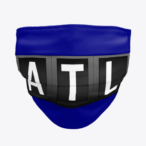 Facemask with ATL, ATL Airport facemasks