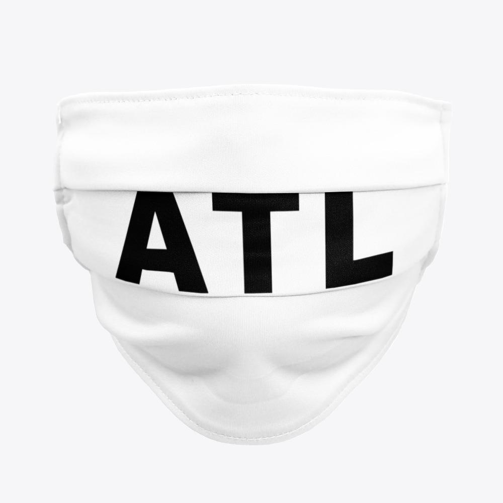 Black ATL Facemasks, White ATL Facemasks