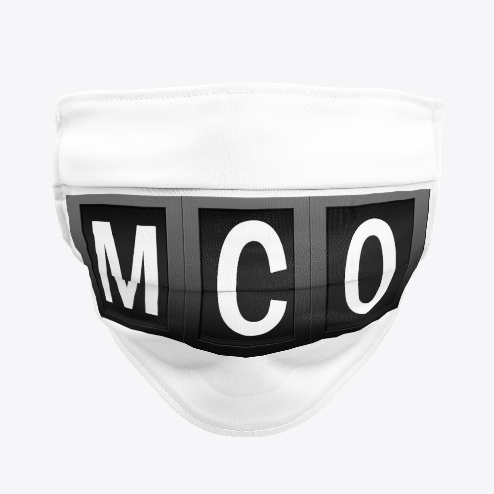 MCO Facemask, Orlando International Facemask