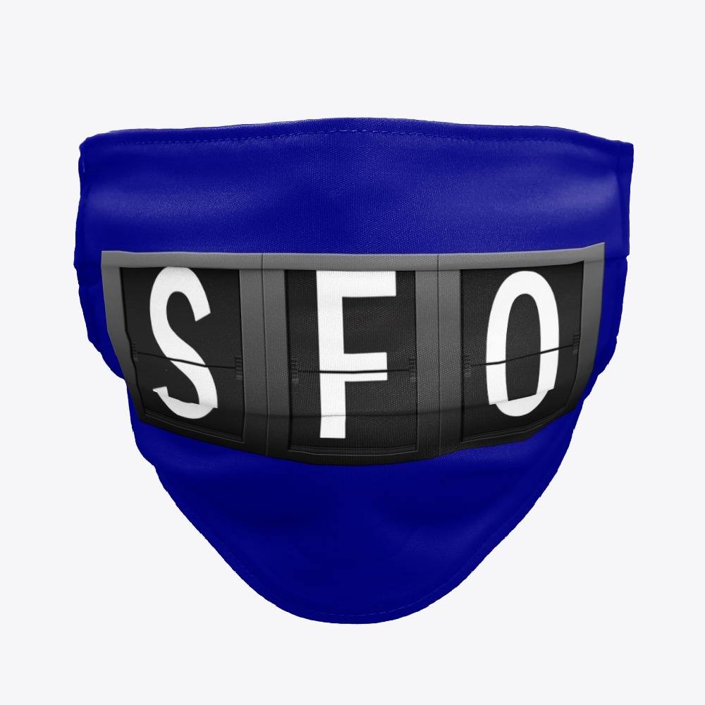 SFO Facemask, San Francisco Facemask