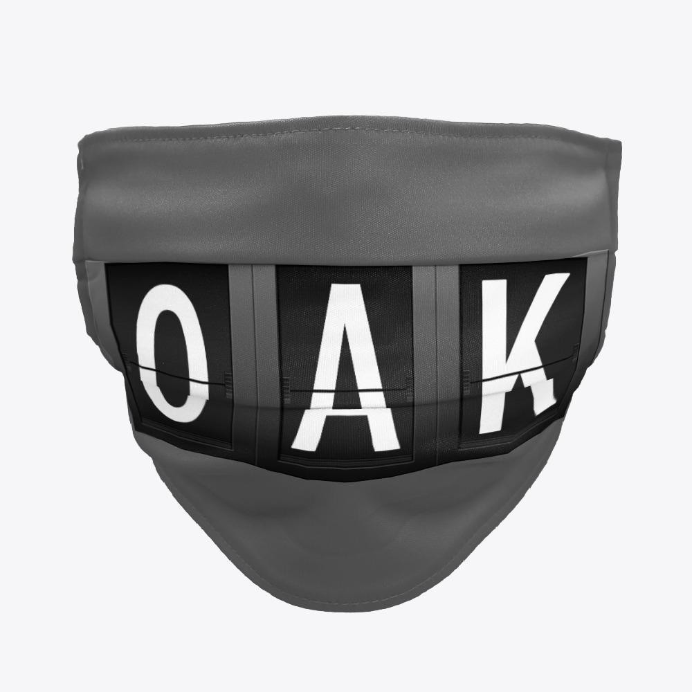 OAK Facemask, Oakland Airport Facemask