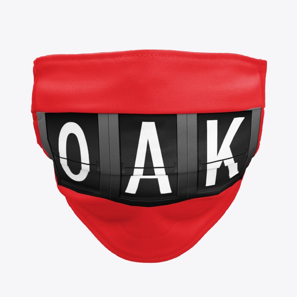Black OAK Facemasks, White OAK Facemasks