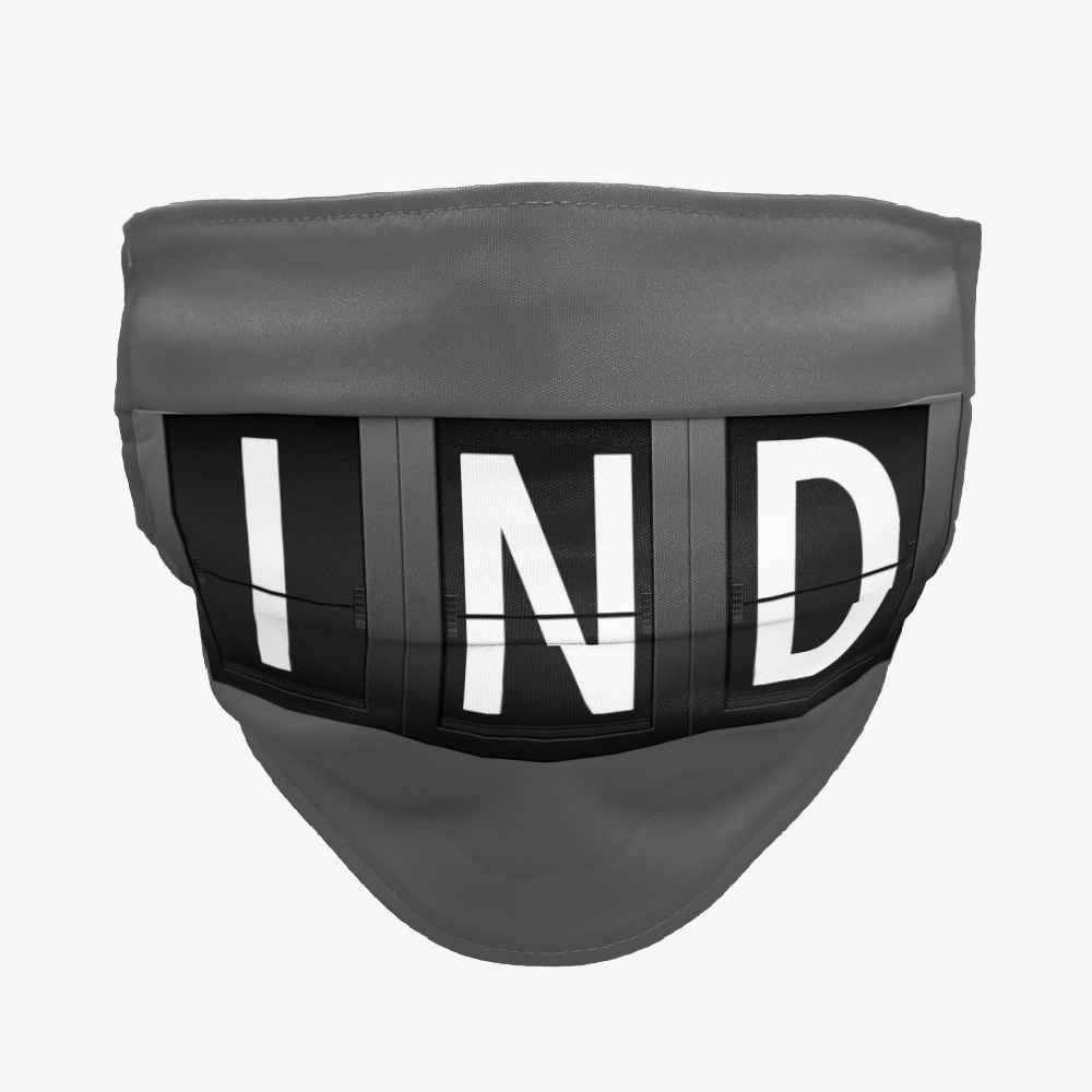 IND Indianapolis International Airport facemasks