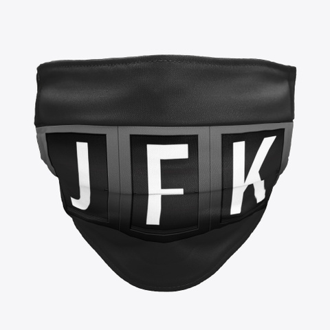 JFK Facemask, John F Kennedy JFK International Airport Facemask