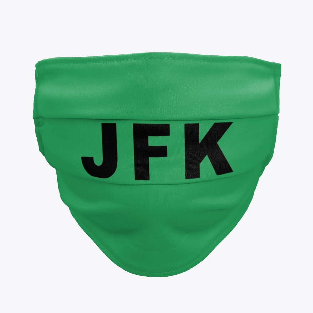 JFK John F Kennedy International Airport facemasks