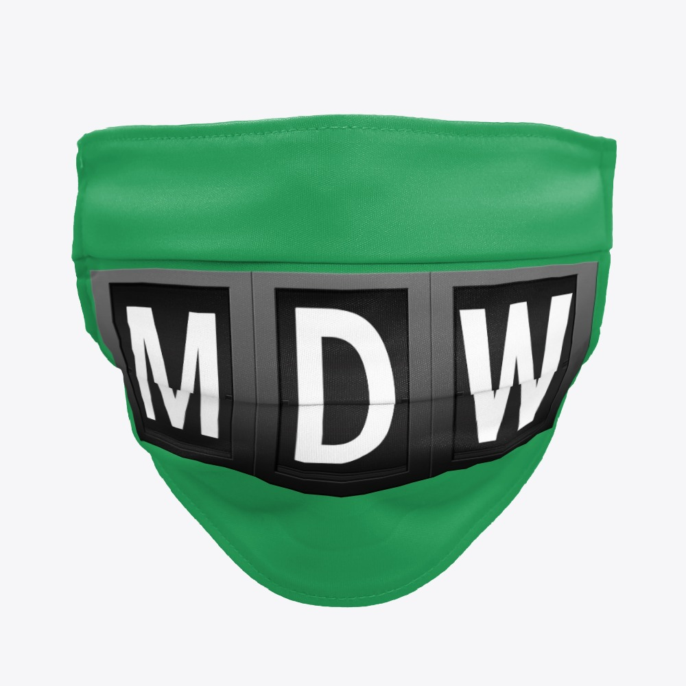 MDW Midway International Airport facemasks