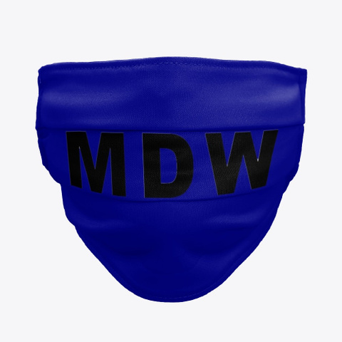 MDW Facemask, Midway MDW International Airport Facemask