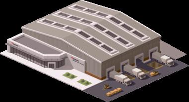 International warehouse space