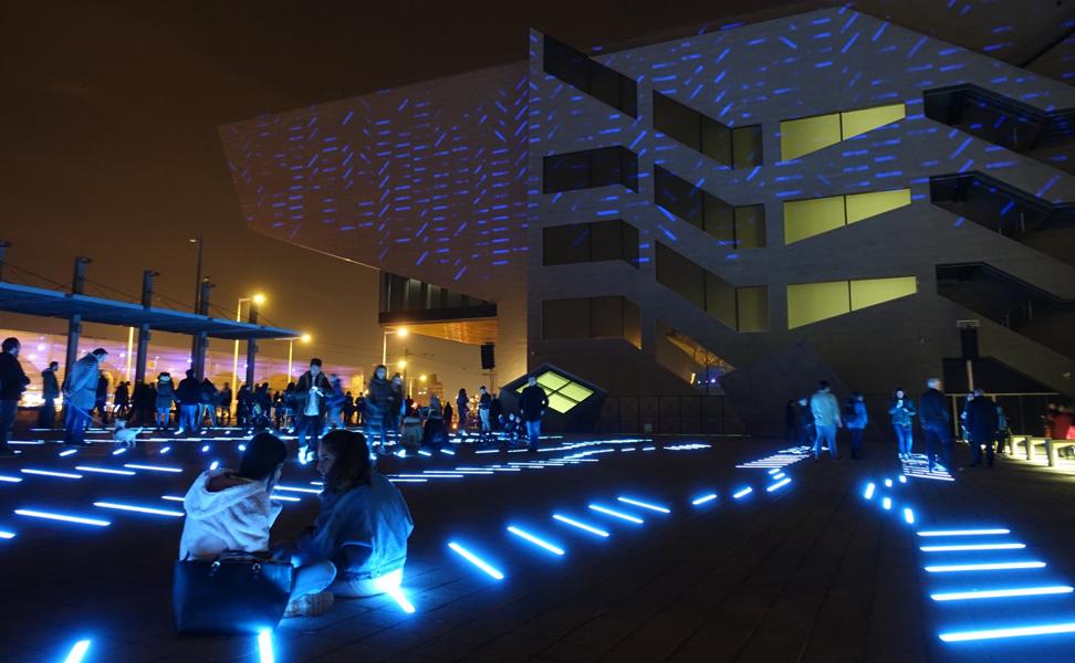 Llum Barcelona: A Festival of Lights told through, Art, Design & Technology